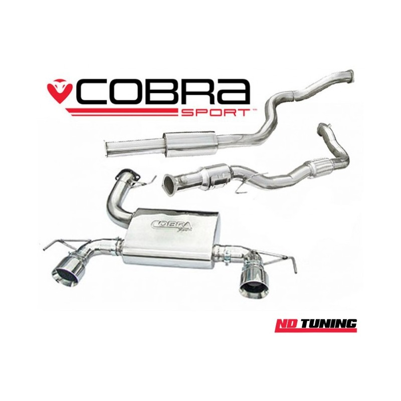 Vauxhall Corsa D VXR Nurburgring Cobra Turbo Back Sports Cat