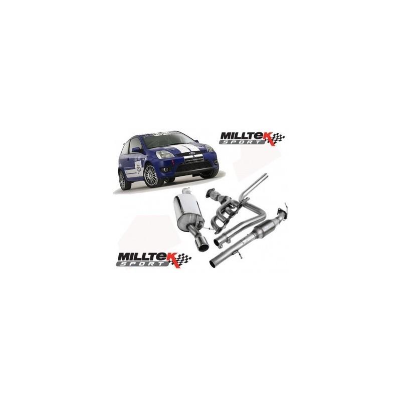 Milltek Sport Ford Fiesta ST150 Manifold and Race System
