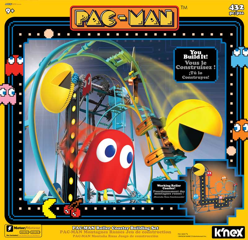 Knex Pacman Roller Coaster Building Set Wholesale