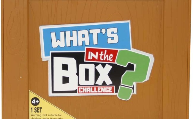 Whats In The Box Challenge Wholesale