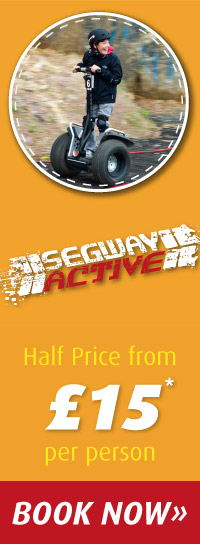 Segway Active Half Price during Half Term