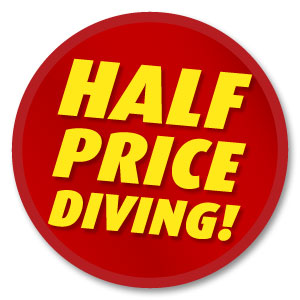 Half Price Scuba Diving