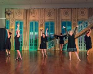 National Dance Clubs Ballroom Jukebox Spring Show