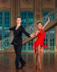 National Dance Clubs Spring Show Ballroom Professionals Vince & Tania