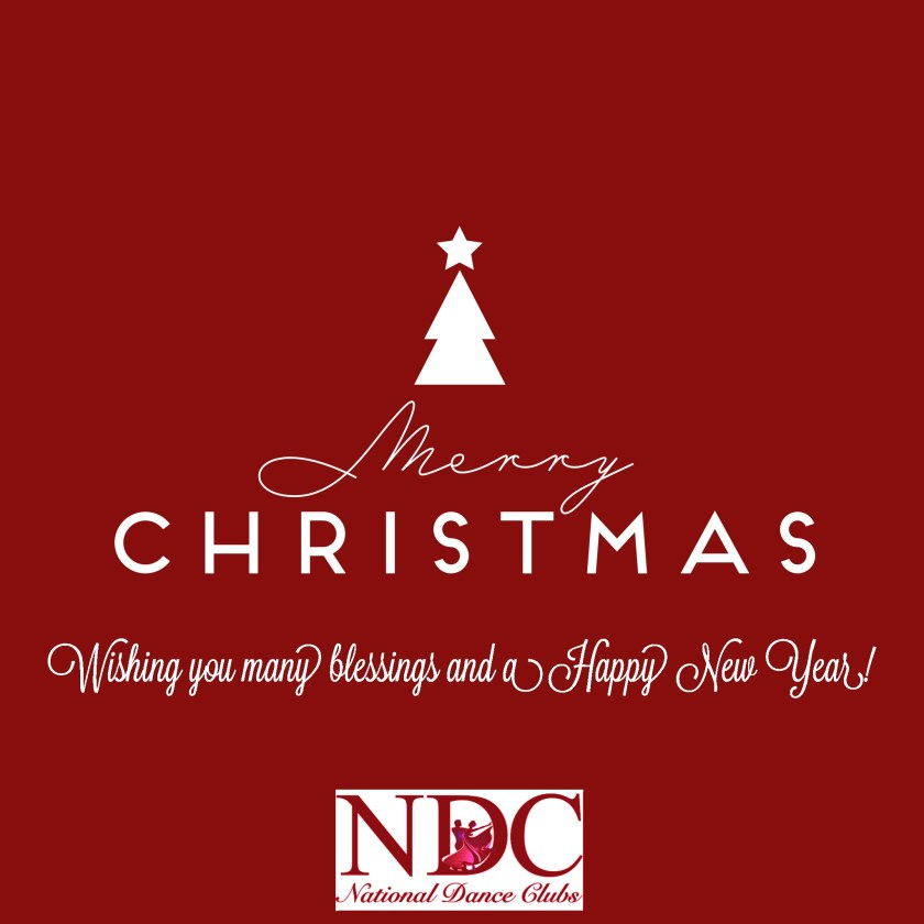 Merry Christmas from National Dance Clubs - NDC