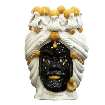 Moro Siciliano in ceramica di Caltagirone in ceramica