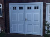 Side Hinged Garage Doors | Side Hung Garage Doors, Wooden ...