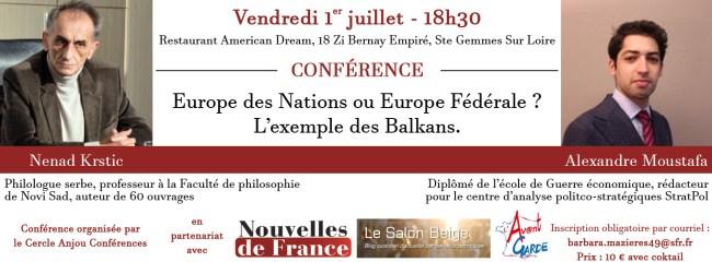 Europe des Nations ou Europe Fédérale ? L'exemple des Balkans
