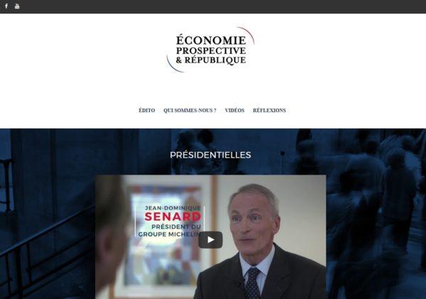Économie, Prospective et République
