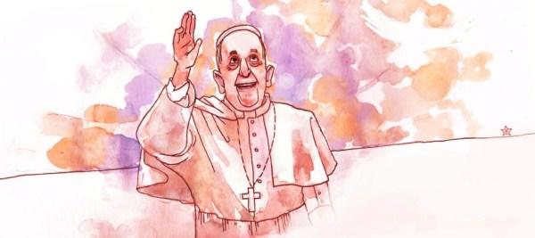 Pauvre Pape François…