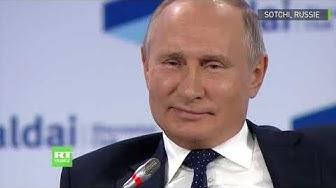 La Russie veut-elle dominer le monde ? Poutine répond (VIDÉO)