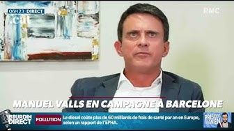 En campagne pour les municipales, Manuel Valls ne connaît pas le prix d'un ticket de métro ou de bus à Barcelone...