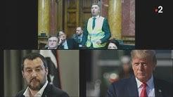 Gilets Jaunes : Trump, Salvini et un député serbe se moquent de Macron