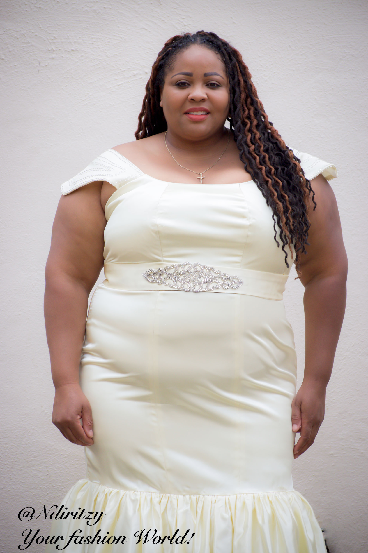 Plus Size Bridal Gown NdiRitzy