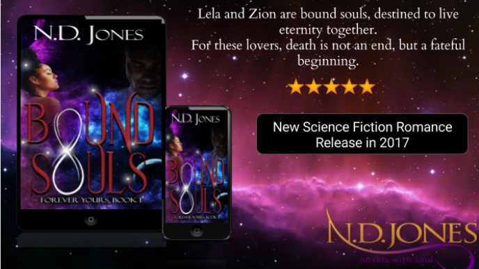 Bound Souls by ND Jones