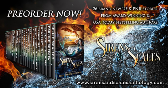 Sirens and Scales Dragons and Mermaids Urban Fantasy Anthology