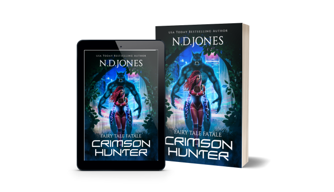 Crimson Hunter A Red Riding Hood African American Retelling by ND Jones