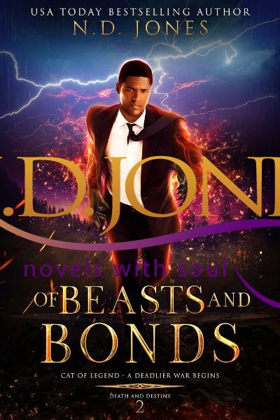 Of Beasts and Bonds African American Paranormal Romance by ND Jones