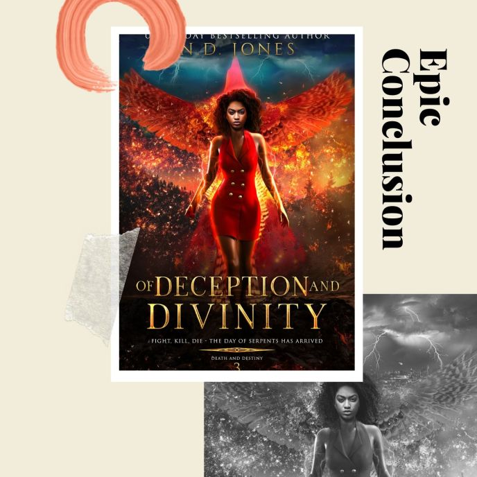 Of Deception and Divinity Shapeshifter Romance by ND Jones Romance Author