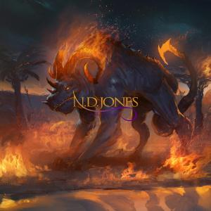 Nephilim Fire Demon Lies Lust Love Black Fantasy Romance by ND Jones