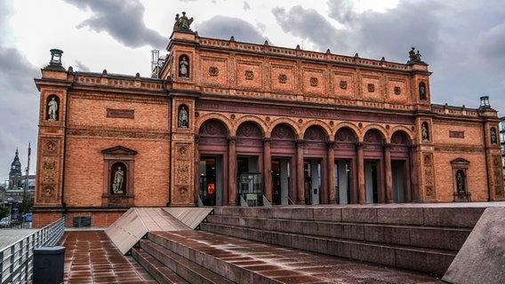 View of the Hamburger Kunsthalle.  © NDR Photo: Eduard Valentin