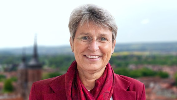 Petra Broistedt (SPD), candidate for the mayoral election in Göttingen.  © Petra Broistedt