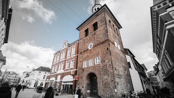 View of the Lappan, the landmark of the city of Oldenburg.  © NDR Photo: Julius Matuschik