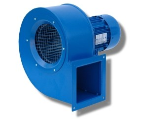 IE2 electric motors for industrial centrifugal fans