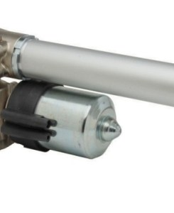 Linear actuators with parallel motor