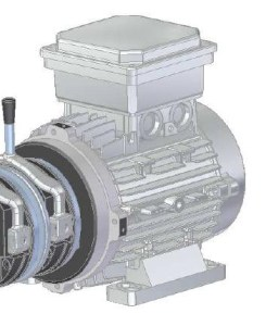 Motori elettrici con doppio freno