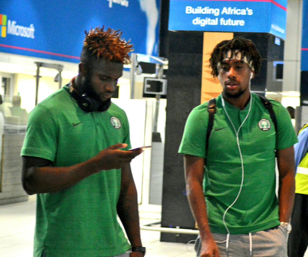Super Eagles Arriving South Africa (Photos) 1