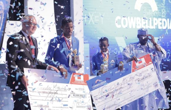 Meet The Winners Of The 2018 Maths Cowbellpedia Competition. See How Much They Got