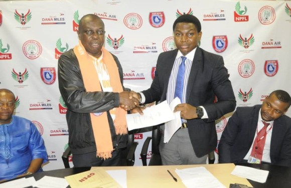 Akwa United FC gets Sponsorship Extension Deal from Dana Air (Details)