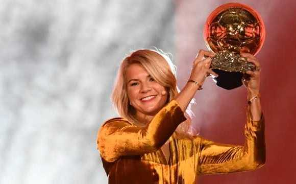 Lyon Star, Ada Hegerberg Wins Women's Ballon D'or