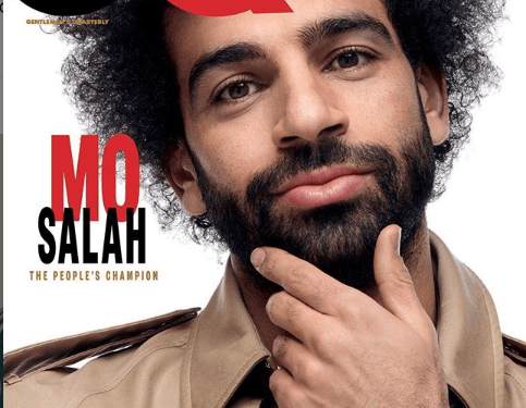 Mohamed Salah Covers For GQ Magazine [photos]