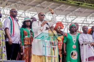 Oyedepo, Enenche, Nathaniel Bassey At PDP Victory Thanksgiving Service In Uyo 1