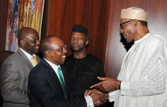 Nigerians react to Buhari's nomination of Godwin Emefiele for second term