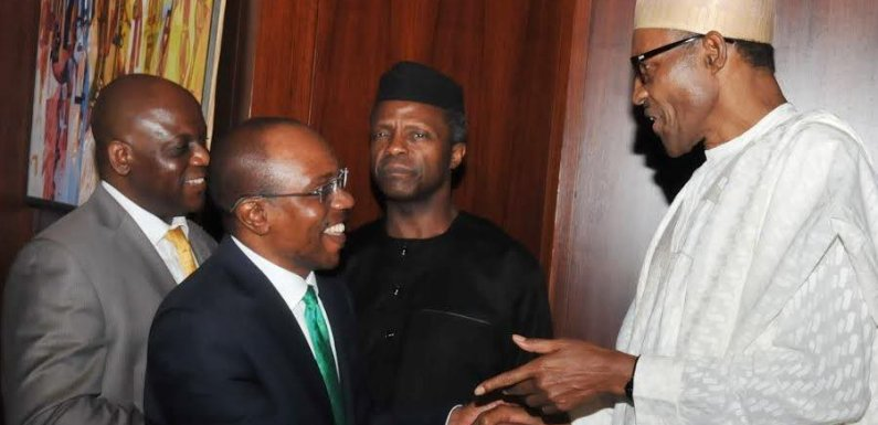 Nigerians react to Buhari's nomination of Godwin Emefiele as CBN Governor for second term