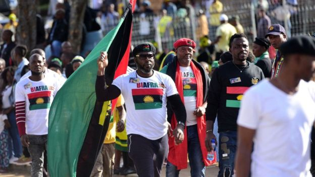 Biafra: IPOB claims responsibility for Nigeria's exclusion from US-Africa summit
