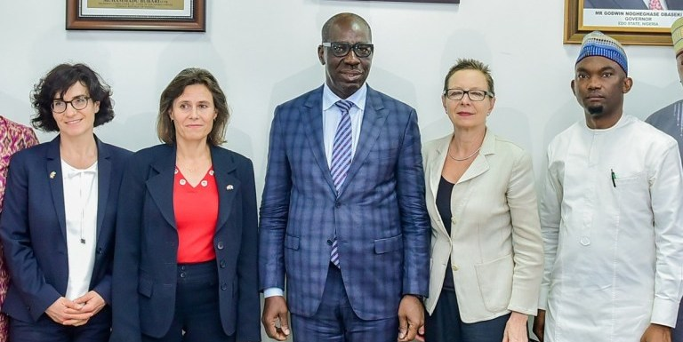 We need support from Int'l agencies to deal with cartels fueling human trafficking, says Obaseki
