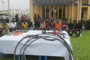 Rivers Police parades over 20 suspected criminals