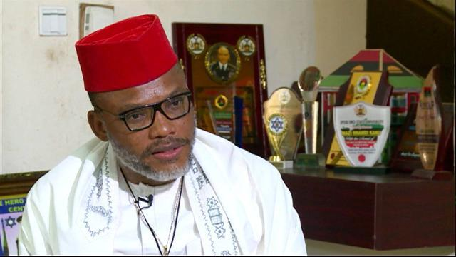 Eastern Security Network, nightmare to FG – Nnamdi Kanu blasts DSS for creating faceless Igbo elders group