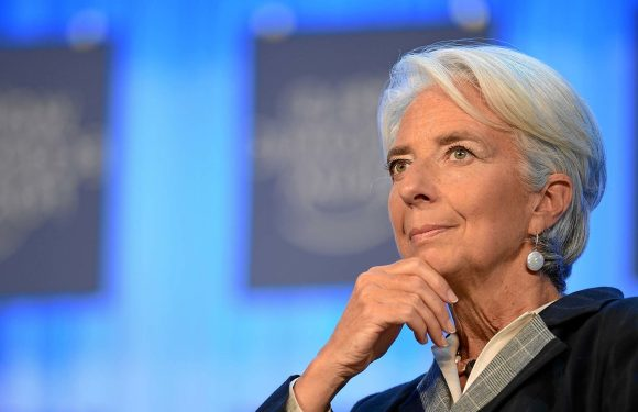 IMF boss, Lagarde resigns