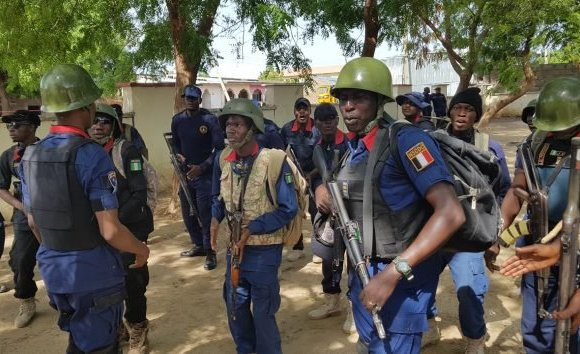 NSCDC arrests 32, recovers N2.9million in Edo