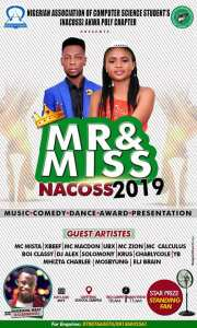 Mr & Miss Nacoss 2019 (AkwaPoly) Holds today at School Cafeteria