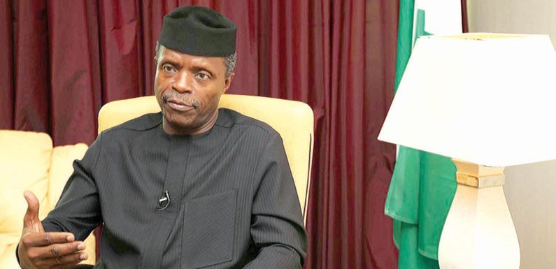 COVID-19: Osinbajo explains reason behind Buhari's survival funds for small businesses