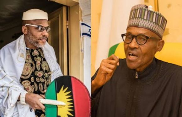 "IPOB: ""We have Buhari trapped in his hideout in a Yokohama hotel"" – Nnamdi Kanu"