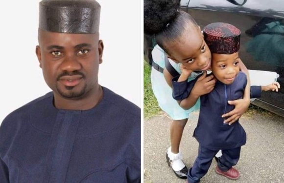 Abia Commissioner Buries Two Children Same Day, Wife Still In Mortuary(Photos)