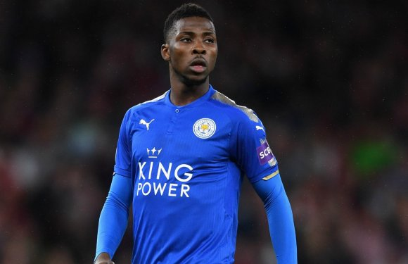 Leicester Coach backs Iheanacho to replace Vardy