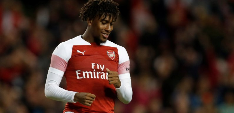 Transfer deadline: Alex Iwobi leaves Arsenal for Everton in club-record deal